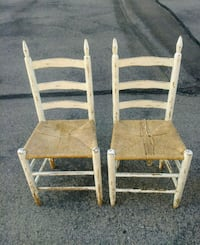 2 Matching Country Chairs