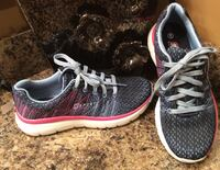 Sport blue, gray, pink, & white running shoes ( brand new with tag ) Calgary, T2J