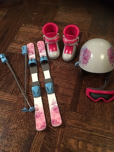 American Girl Skis & Gear Set (for dolls)