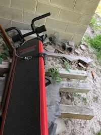 black and red Weider gym equipment Raleigh, 27607