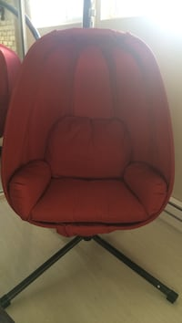 Nice red chair Laval