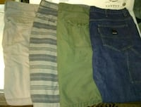 Men's Size 38 (3) Shorts and (1) Jeans Wake Village, 75501