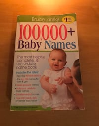 100,000 Baby Names Book Virginia Beach, 23456