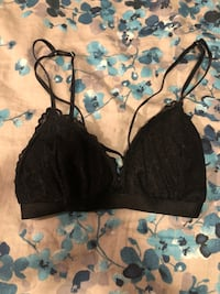 Lace Bralette with front straps  Calgary, T2A 4Y5
