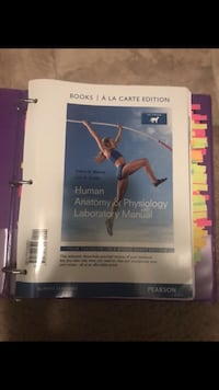 human anatomy and physiology textbook UNCC students Charlotte, 28262