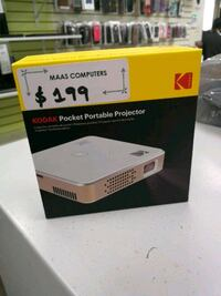 Kodak Pocket Portable Projector brand new sealed with manufacturer's w Toronto, M9W 5Z3