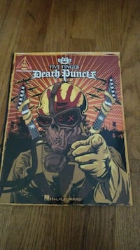 Five Finger Death Punch comic book