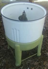 00f917e709c Used PET PAIL fiod storage with locking lid for sale in Middle ...
