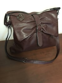 Maroon Crossbody (2x length handle) Edmonton, T6E 2S5