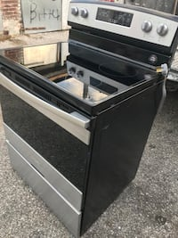 black and gray induction range oven Baltimore, 21223