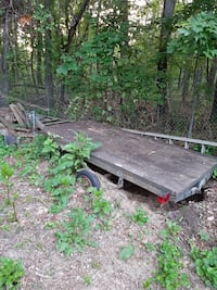Trailer will trade for atv or dirt bike does not have to run