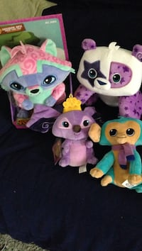 Animal jam set all brand new. Four plushes.  Islip, 11751