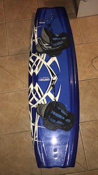 NEW* O'Brien Wake board S135 with WHIRLY bindings Edmonton, T5G 1V1