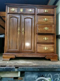 brown wooden cabinet with drawer Aspen Hill, 20906