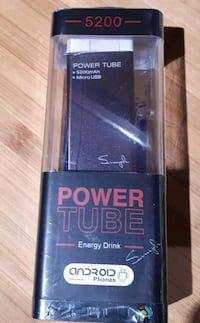 Power 5200 charger.New