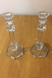 Glass Candle holders Abington, 19001
