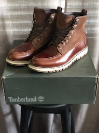 Timberland Britton brown hard leather and suede Orlando, 32804
