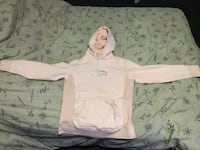 white and gray zip-up hoodie Whitby, L1N 3W1