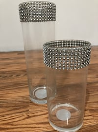 2 beaded vases Springfield, 22150