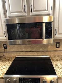 New Bosch Stainless Steel Over-the-Range Convection Microwave HMV8053U Top of the line
