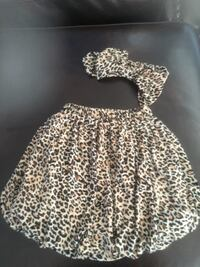 Adorable bubble skirt with matching head band for girls Toronto, M3J 1T8