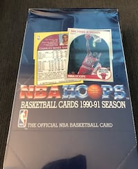 Sealed Box - 1990 Hoops Basketball Hobby Bo - 36 Sealed Packs - Michael Jordan Gem Mint?