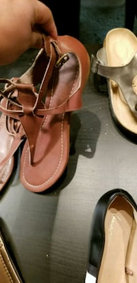 Brown sandals size 10.  Arlington, 22209