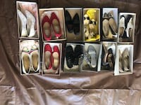 assorted pairs of shoes with boxes Corona, 92882