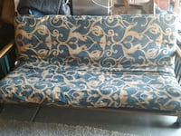 brown and blue floral fabric sofa Glendale, 85310