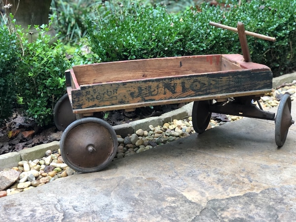 Antique Childs Wooden Wagon