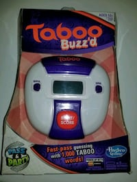 Taboo & Trivial Pursuit Travel Electronic Games Essex, 21221