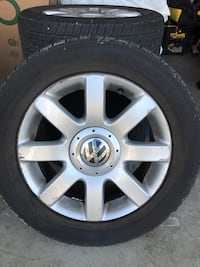 Volkswagen VW 16 inch wheels and tires for 2006-current models Maple Ridge, V2X 2P9