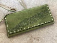 Handmade Leather wallet 26 km