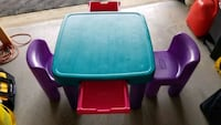 Kids table and chairs little Tikes. Chantilly