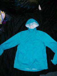 Blue rain jacket/ wind breaker Kamloops, V2C 6C7
