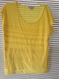 Beautiful  yellow top by LIZ CLABORNE large Ooltewah, 37363