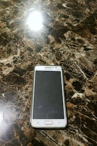 white Samsung DUOS Galaxy Android smartphone
