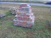 Bricks of all different shapes