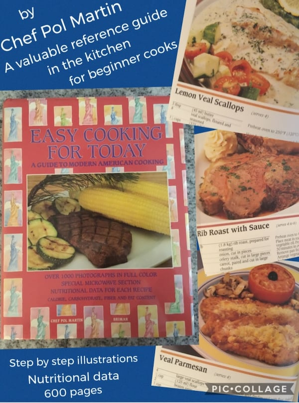 A valuable reference guide cookbook~chef Pol Martin~600 pgs~Reg $59.99 5a4fec67-f9d8-48ea-99f3-5a8744bfe1ed