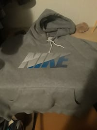 gray and black Nike pullover hoodie Newport News, 23605