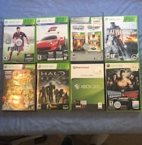 Xbox 360 Games (Assorted) New Westminster, V3L 4N2