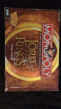 Monopoly Lord Of The Rings Trilogy Edition Independence, 64052
