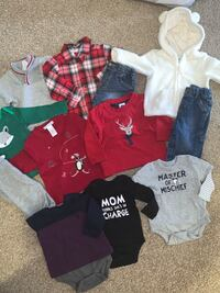 Baby boy 3-6 months clothing