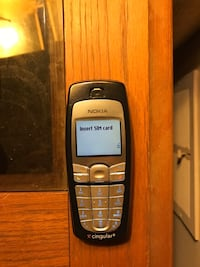 black and gray Nokia candy bar phone Falls Church, 22042