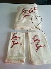 Christmas Towel set  Forest Hill, 21050