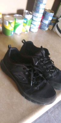 pair of black Air Jordan basketball shoes size 12 Troy, 12182