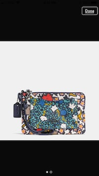 Coach multicolor wristlet  Virginia Beach, 23451
