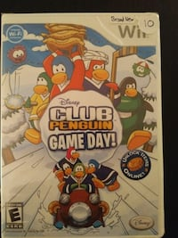 Brand New Wii game Club Penguin Game Day  Vaughan, L4L