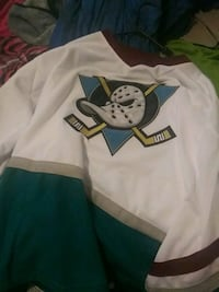 Large Anaheim ducks hockey jersey