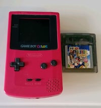 Gameboy Color (Red) + Super Mario Deluxe game Richmond Hill, L4B